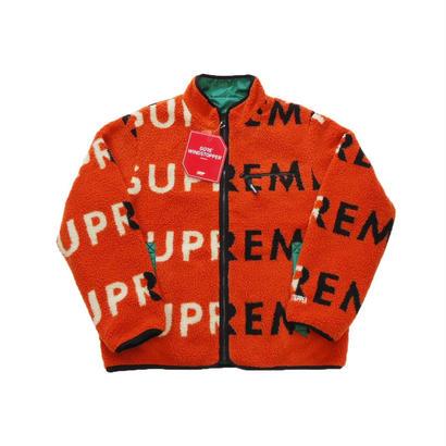 Supreme Reversible Logo Fleece Jacket