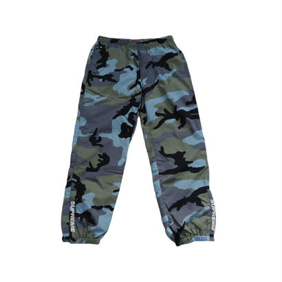 Supreme Warm Up Pant (Blue Camo)