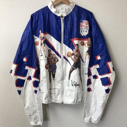 Vintage 1992 Olympic NBA Dream Team Paper Jacket