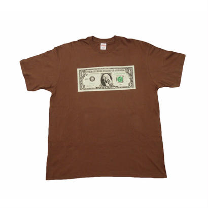 Supreme Dollar Tee Brown