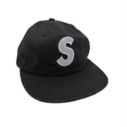 Supreme 3m Reflective S logo 6-panel Black
