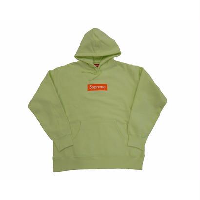 Box Logo Hooded Sweatshirt (Pale Lime)