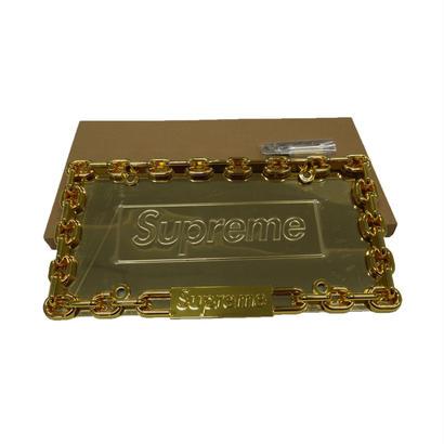 Supreme Chain License Plate Frame (Gold)