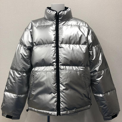 Used Supreme Reflective Sleeve Logo Puffy Jacket