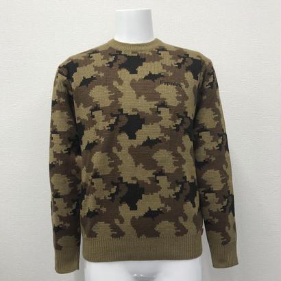 Used Supreme Camo Sweater