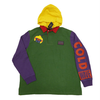 The Snow Beach Hooded Rugby