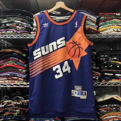 Used  Adidas Suns Charles Barkley Jersey