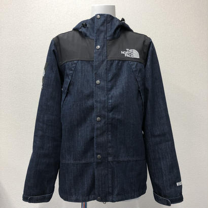Used Supreme The North Face  Denim Dot Shot Jacket