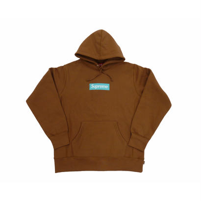 Box Logo Hooded Sweatshirt (Rust)