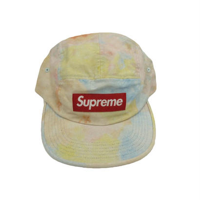 Supreme Multicolor Denim Camp Cap