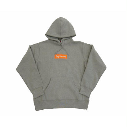 Box Logo Hooded Sweatshirt (Heather Grey)