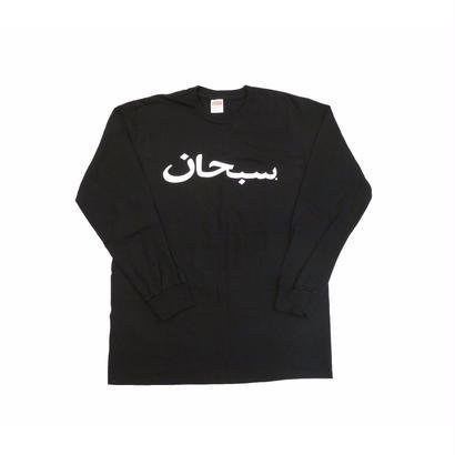 Supreme Arabic Logo L/S Tee (Black)