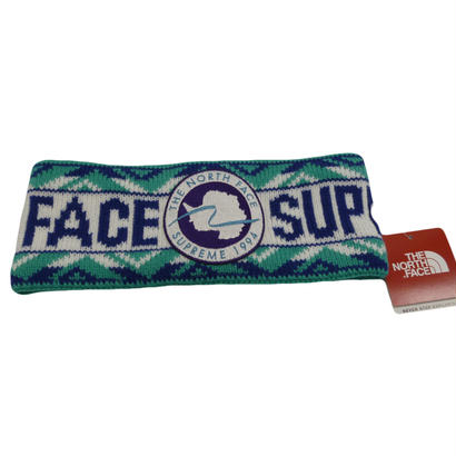 Supreme THE NORTH FACE - TRANSANT HEADBAND (HONOR BLUE)