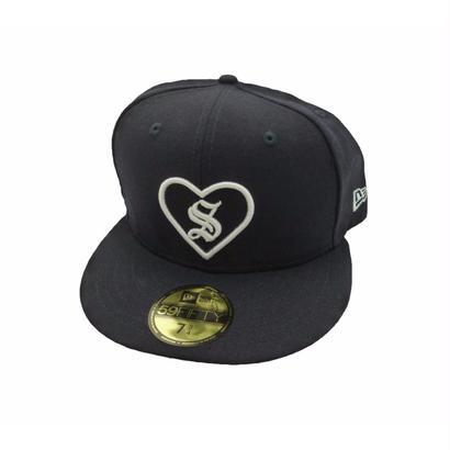 Supreme Heart New Era® (Navy)61.5cm