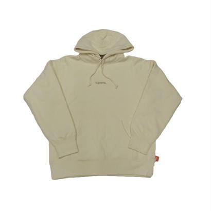 Supreme Trademark Hooded Sweatshirt (Natural)