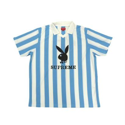 Supreme Playboy Soccer Jersey (Light Blue)