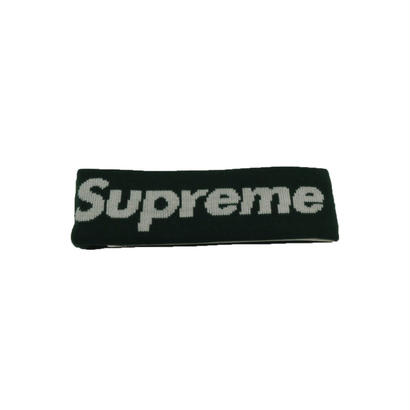 Supreme New Era Big Logo Headband (Green)