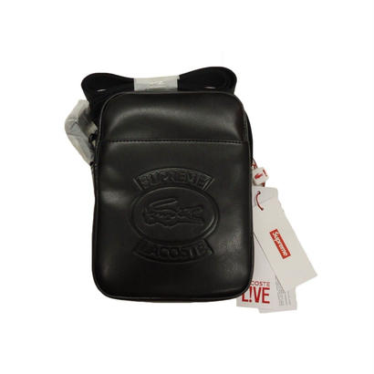 Supreme LACOSTE Shoulder Bag (Black)