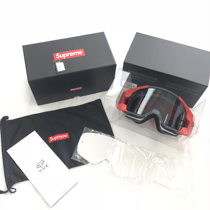 Supreme Fox Racing VUE Goggles (Red)