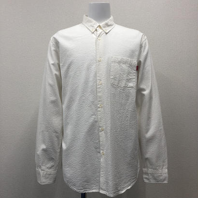 Used Supreme Tonal Seersucker Shirt