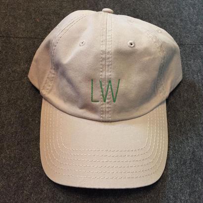 LUCKYWOOD【 ラッキーウッド】LW LOGO CAP KHAKI