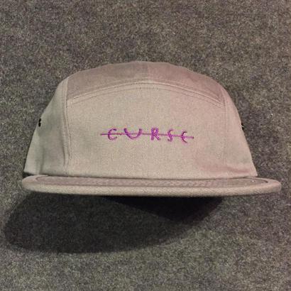 LUCKYWOOD【 ラッキーウッド】CURSE CMAPER CAP キャンプ キャップ グレー