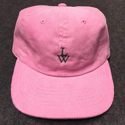 LUCKYWOOD【 ラッキーウッド】CORDUROY CAP  L-PINK 帽子 キャップ ピンク