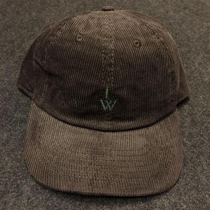 LUCKYWOOD【 ラッキーウッド】CORDUROY CAP  D-BROWN  帽子 キャップ ダークブラウン