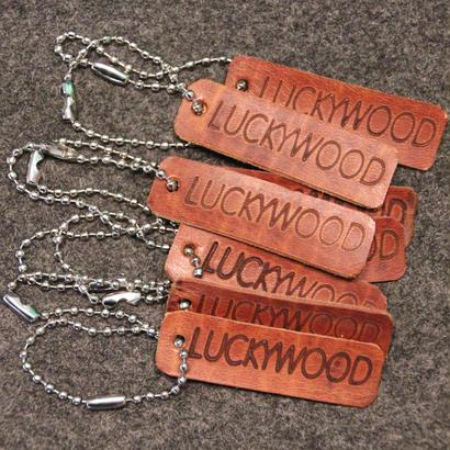 LUCKYWOOD Leather KEY RING キーリング キーホルダー
