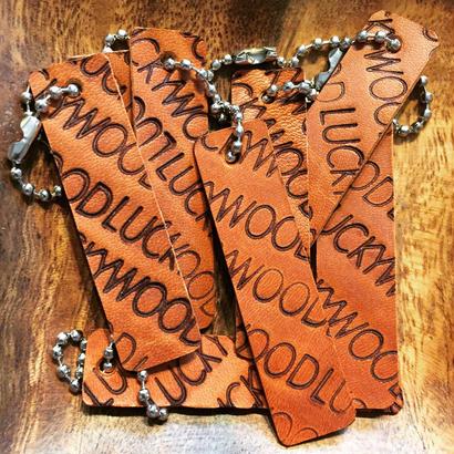 NEW LUCKYWOOD Leather KEY RING キーリング キーホルダー