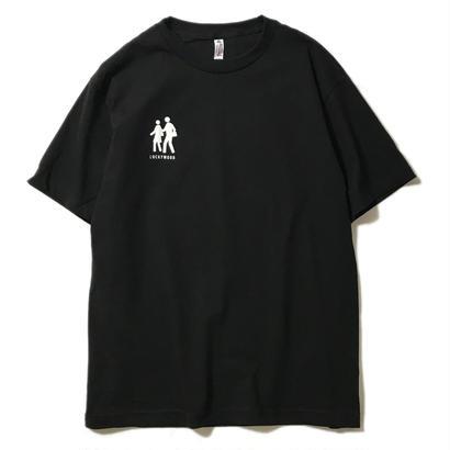 LUCKYWOOD【 ラッキーウッド】CHILLIN TEE   Tシャツ ブラック