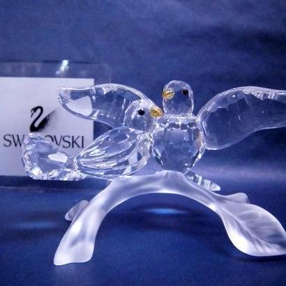 swarovski(スワロフスキー)クリスタル キジバト
