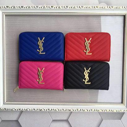 人気 Yves Saint Laurent イヴサンローラン YSL レディース セレブ愛用 長財布 財布 さいふ サイフ ysl-352905