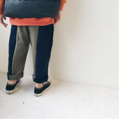 2color pants*navy/khaki