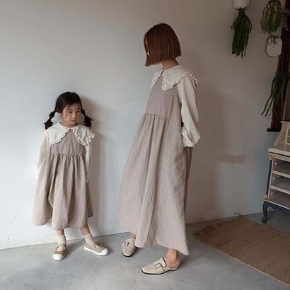 【ペア】リボンワンピース*Kids