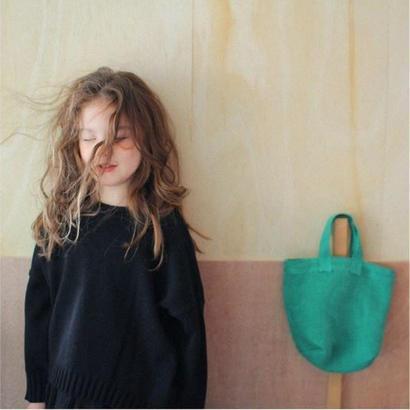 XSサイズのみ pullover knit*black