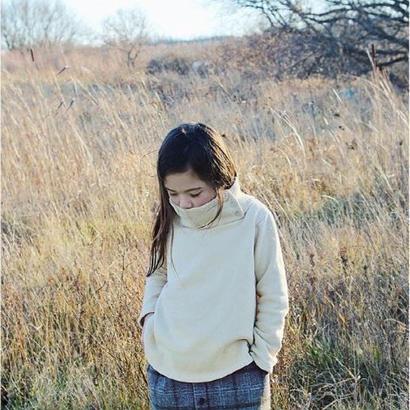 BN hi‐neck pullover