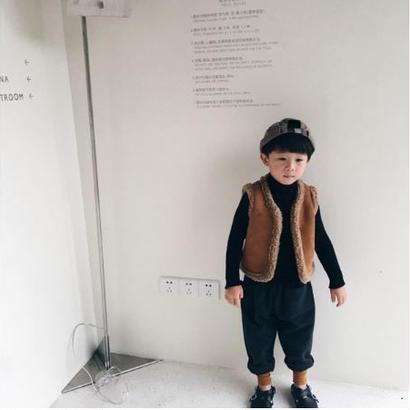 boa vest*brown