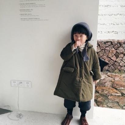 【再入荷】military coat:*khaki