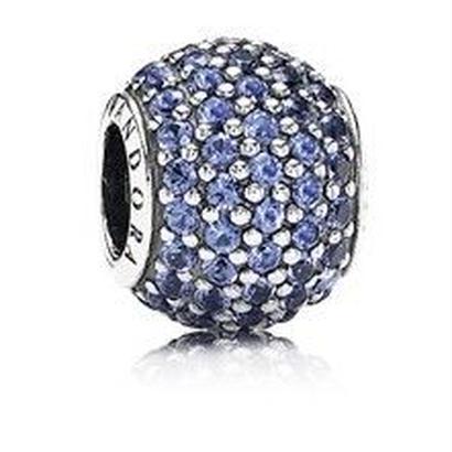 パンドラ チャーム PANDORA CHARM 791051NCB BLUE PAVE BALL