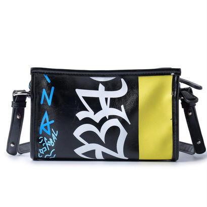 グラフィティ ミニバザールバッグ クラシック バレンシアガstyle バザールバッグ メンズ レディース niko B8050 (YELLOW)