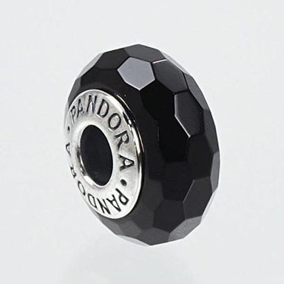 パンドラ チャーム PANDORA MURANO CHARM 791069 BLACK