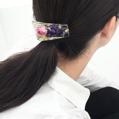 眠り姫 花束のバレッタ