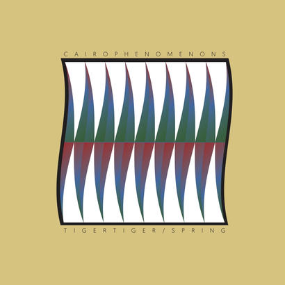 """TIGER TIGER/SPRING"" by CAIROPHENOMENONS 7inch レコード"