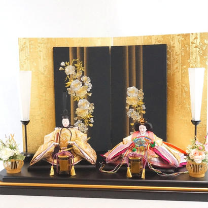 京洛平飾り 西陣織帯5 [Ft-st-bl-16ob5]