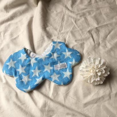 8重ガーゼもくもく雲スタイ#デニムビッグスター&気球