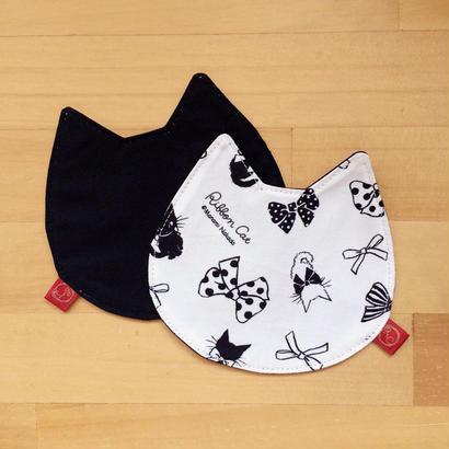 リボンキャット猫型コースター(2枚セット)