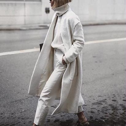 wool warm コート