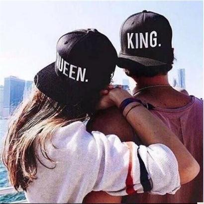KING & QUEEN cap