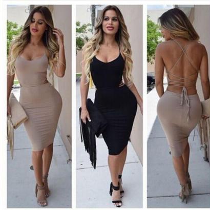 cat walkドレス 全2色 beige,black